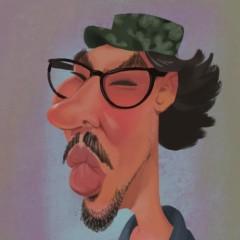 Lino Di Salvo Caricature