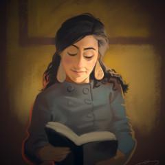 Christina's Book.