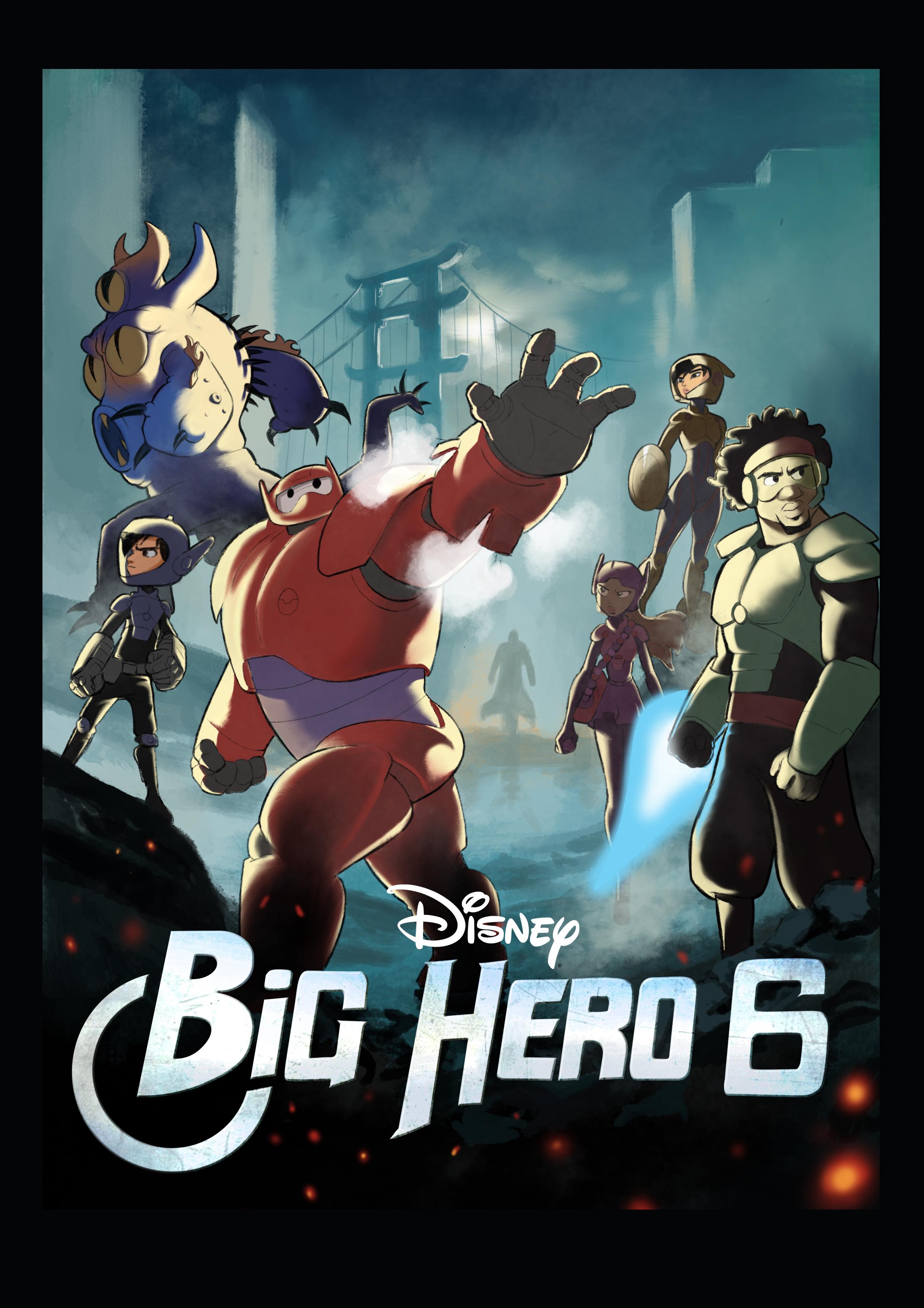 Big hero 6 - Heros avengers ...