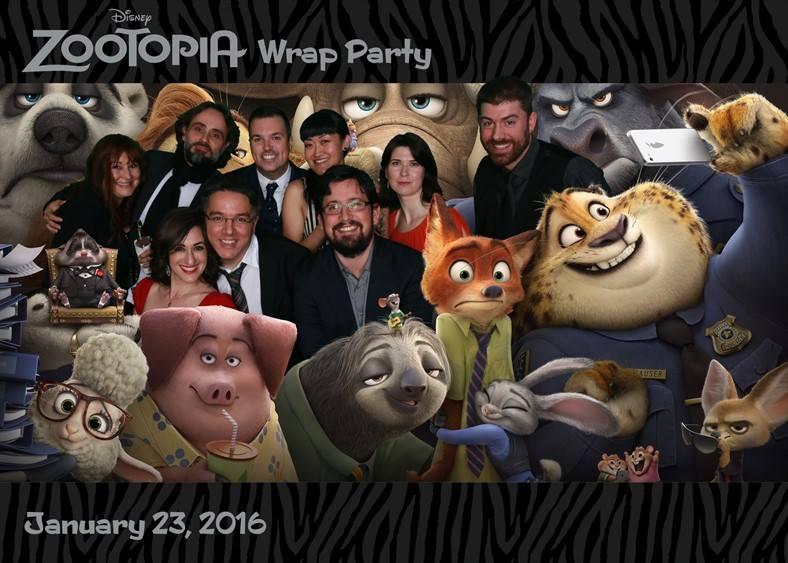 wrap party fun!